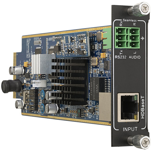 KanexPro Flexible One Input HDBaseT 1080p Card with Audio