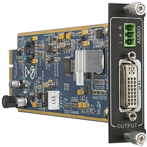 KanexPro Flexible One Output DVI Card with De-Embedded PCM Audio