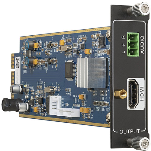 KanexPro Flexible One Output 4K HDMI Card with De-Embedded PCM Audio