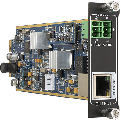 KanexPro Flexible One Output 4K HDMI HDBT Card with De-Embedded PCM Audio