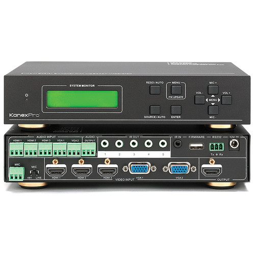KanexPro 5-Input Multi-Presentation Scaler & Switcher with HDMI Out