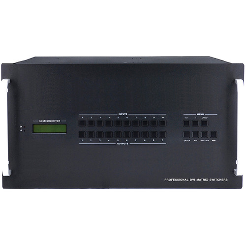 KanexPro DVI 32X32 Matrix Switcher with RS-232