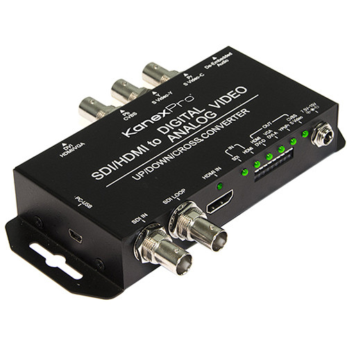 KanexPro SDI/HDMI with Audio Embedder to Multiple Video Cross-Converter