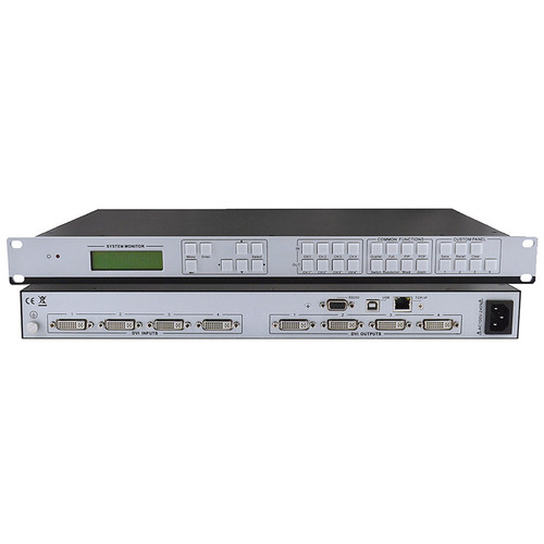 KanexPro SW-VDYWALL 2 x 2 DVI Video Processor with Multi-Viewer