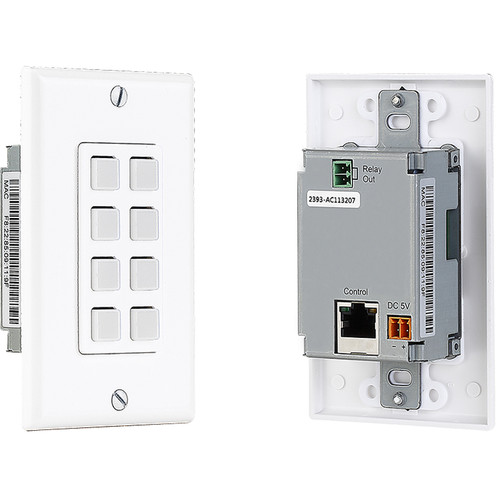 KanexPro 8-Button IP-Based Control Keypad with PoE