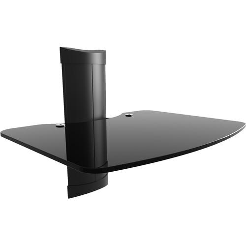 Kanto Living AVSM Glass A/V Wall Shelf