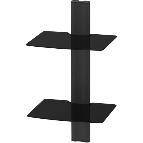 Kanto Living AVT2 Wall-Mounted A/V Shelf System (Two Shelves)