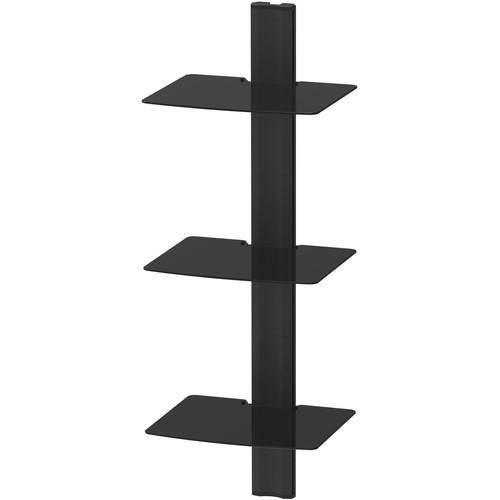 Kanto Living AVT3 Wall-Mounted A/V Shelf System (Three Shelves)