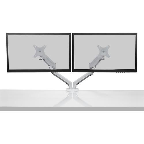 Kanto Living DMG2000W Desktop Dual Monitor Mount (White)