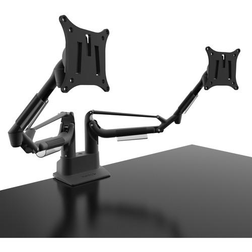 Kanto Living DMS2000 Dual Arm Desktop Monitor Mount (Black)