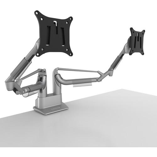 Kanto Living DMS2000 Dual Arm Desktop Monitor Mount (Silver)