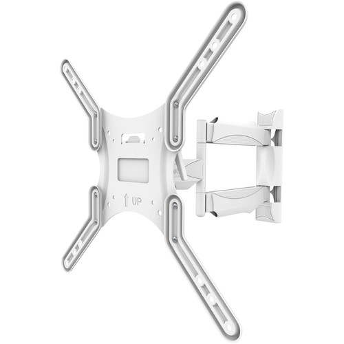 """Kanto Living M300 Full Motion Wall Mount for 26 to 55"""" Displays (White)"""