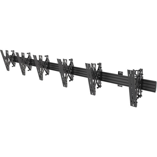 """Kanto Living MBW31PT Menu Board Wall Mount System for Three 40 to 60"""" Displays"""