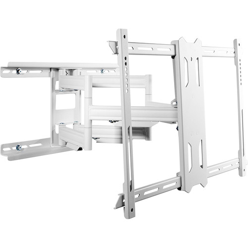 """Kanto Living PDX650W Full-Motion Wall Mount for 37 to 75"""" Displays (White)"""