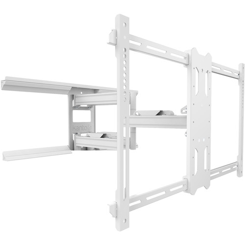 """Kanto Living PDX680 Full-Motion Wall Mount for 39 to 80"""" Displays (White)"""