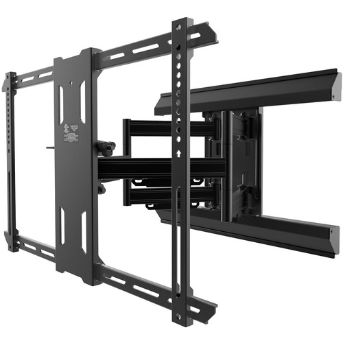 "Kanto Living PMX660 Pro Series Full-Motion Wall Mount for 37 to 80"" Displays (Black)"