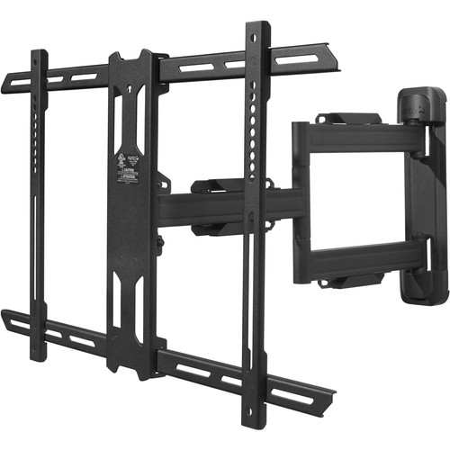 "Kanto Living PS350 Full-Motion Wall Mount for 37 to 60"" Displays (Black)"