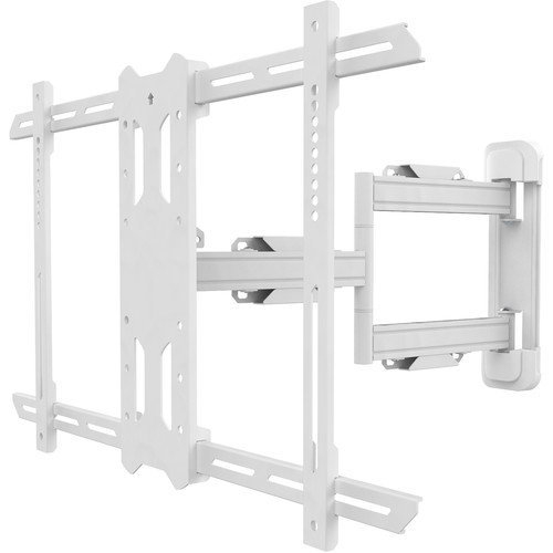 """Kanto Living PS350W Full-Motion Wall Mount for 37 to 60"""" Displays (White)"""