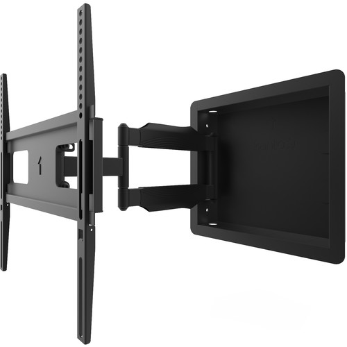 """Kanto Living R300 Recessed Articulating Wall Mount for 32 to 55"""" Displays"""