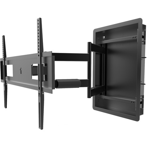 "Kanto Living R500 Recessed Articulating Wall Mount for 46 to 80"" Displays"
