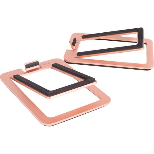 Kanto Living S2 Desktop Speaker Stands (Pair, Copper)