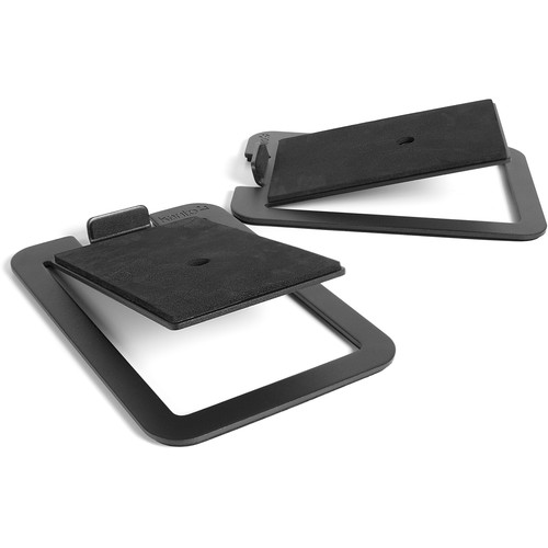 Kanto Living S4 Desktop Speaker Stands (Pair, Black)