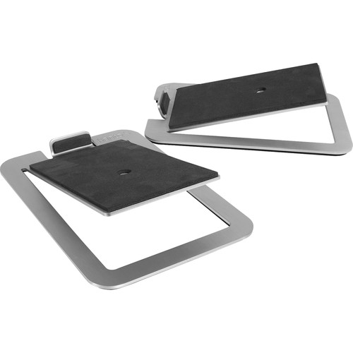 Kanto Living S4 Desktop Speaker Stands (Stainless Steel)