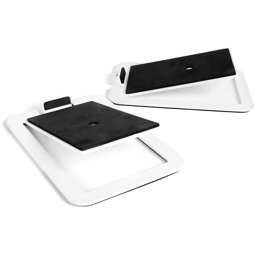 Kanto Living S4W Desktop Speaker Stands (Pair, White)