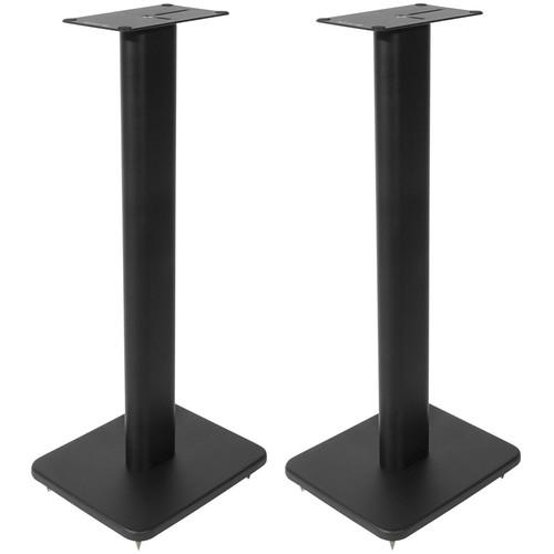 Kanto Living SP26 Bookshelf Speaker Stands (Pair, Black)