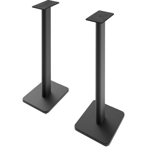 """Kanto Living SP Plus 26"""" Bookshelf Speaker Stands (Black, Pair)"""