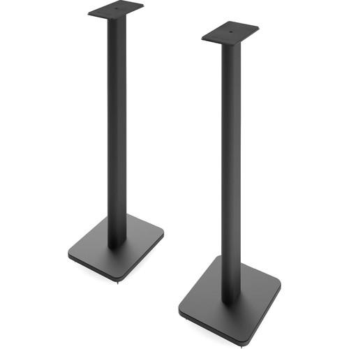 """Kanto Living SP Plus 32"""" Bookshelf Speaker Stands (Black, Pair)"""
