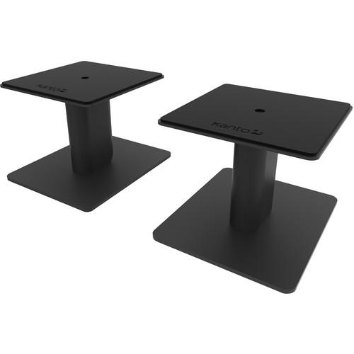 """Kanto Living 6"""" Tall Universal Desktop Speaker Stand (Black)"""