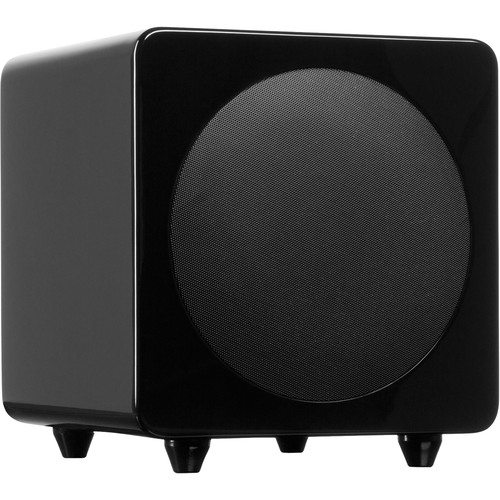 "Kanto Living sub8 120W 8"" Active Subwoofer (Gloss Black)"