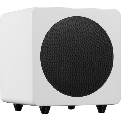 "Kanto Living sub8 125W 8"" Active Subwoofer (Gloss White)"