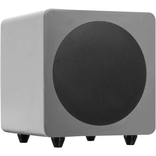 "Kanto Living sub8 120W 8"" Active Subwoofer (Matte Gray)"