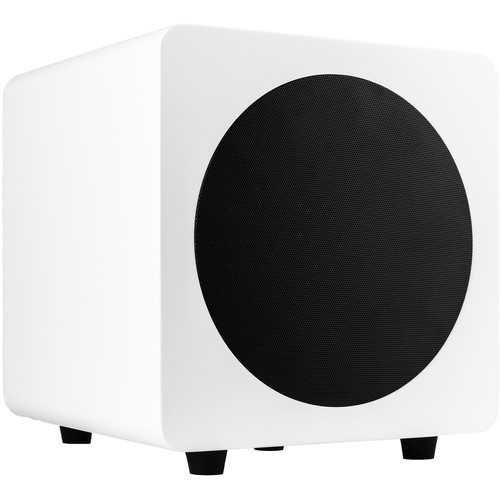 "Kanto Living sub8 125W 8"" Active Subwoofer (Matte White)"