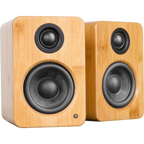 Kanto Living YU2 Powered Desktop Speakers (Bamboo, Pair)