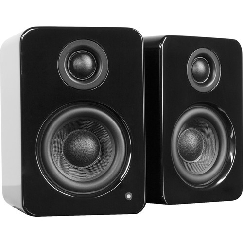 Kanto Living YU2 Powered Desktop Speakers (Glossy Black)