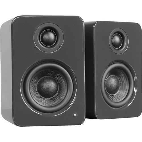 Kanto Living YU2 Powered Desktop Speakers (Glossy Gray)
