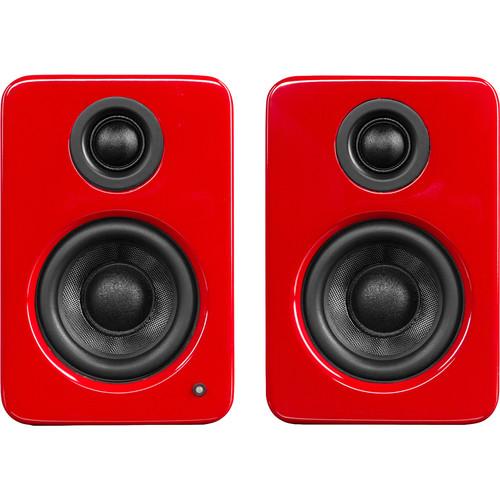 Kanto Living YU2 Powered Desktop Speakers (Glossy Red)