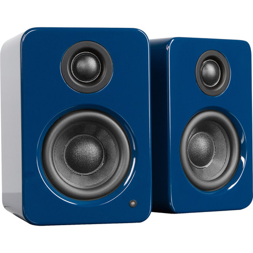 Kanto Living YU2 Powered Desktop Speakers (Glossy Blue)