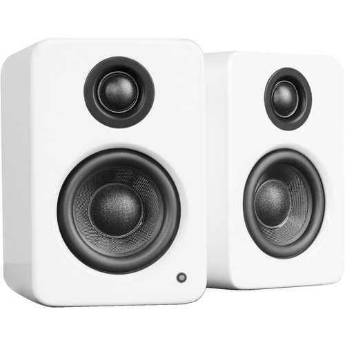 Kanto Living YU2 Powered Desktop Speakers (Glossy White)