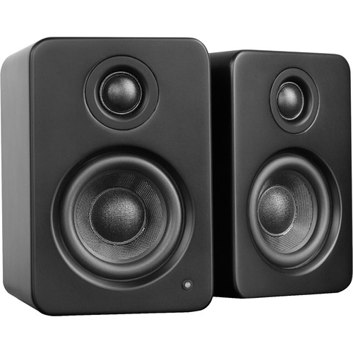 Kanto Living YU2 Powered Desktop Speakers (Matte Black)