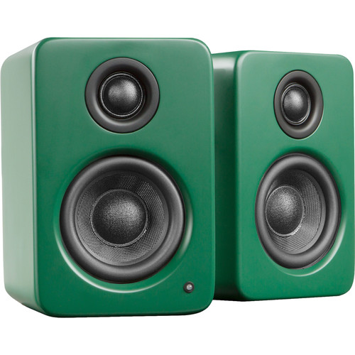 Kanto Living YU2 Powered Desktop Speakers (Matte Green)