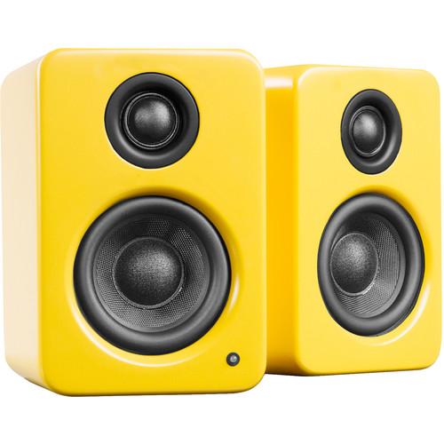 Kanto Living YU2 Powered Desktop Speakers (Matte Yellow)