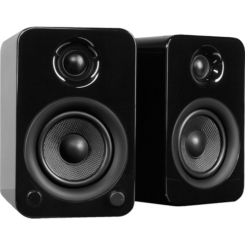 Kanto Living YU3 Powered Speakers (Pair, Gloss Black)