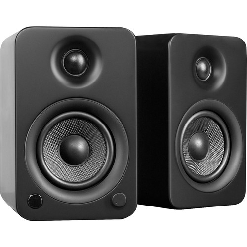 Kanto Living YU3 Powered Speakers (Pair, Matte Black)