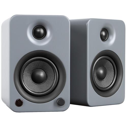 Kanto Living YU3 Powered Speakers (Pair, Matte Gray)