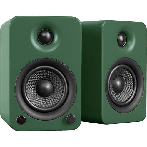 Kanto Living YU3 Powered Speakers (Pair, Matte Green)