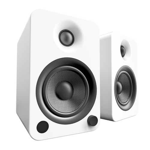 Kanto Living YU4 2-Way Powered Bookshelf Speakers (Pair, Pure)